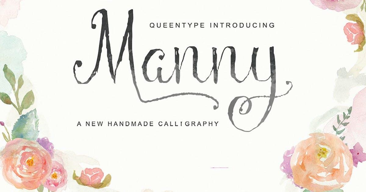 Download Manny Script by queentype