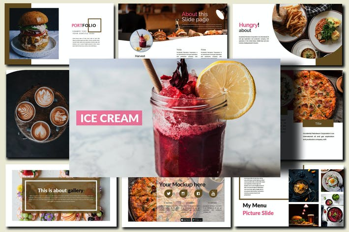 Delicious Food - Powerpoint Template