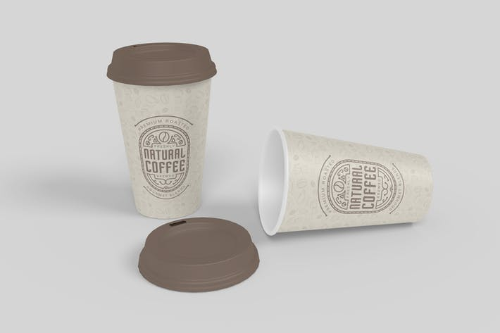 Thumbnail for Coffee Cup Mockup V2