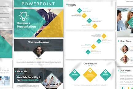 Brain - Business Powerpoint Template