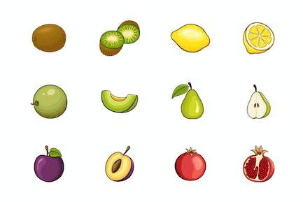 Ilustración de frutas V.3