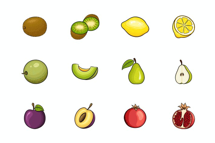 Thumbnail for Fruits Illustration V.3