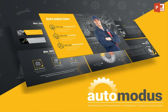Automodus automotive powerpoint template by inspirasign on envato cover image for automodus automotive powerpoint template toneelgroepblik Images