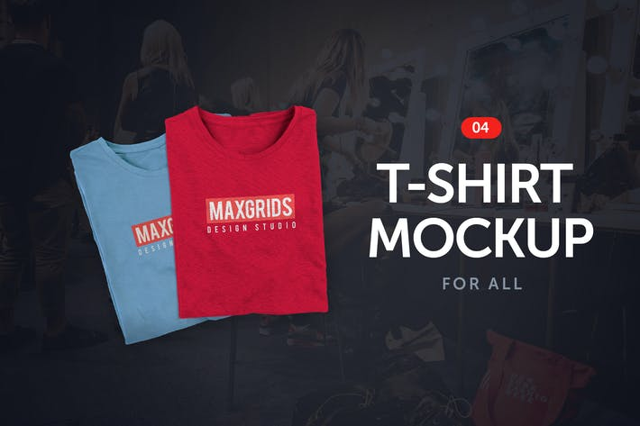 Thumbnail for T-Shirt Mockup 04