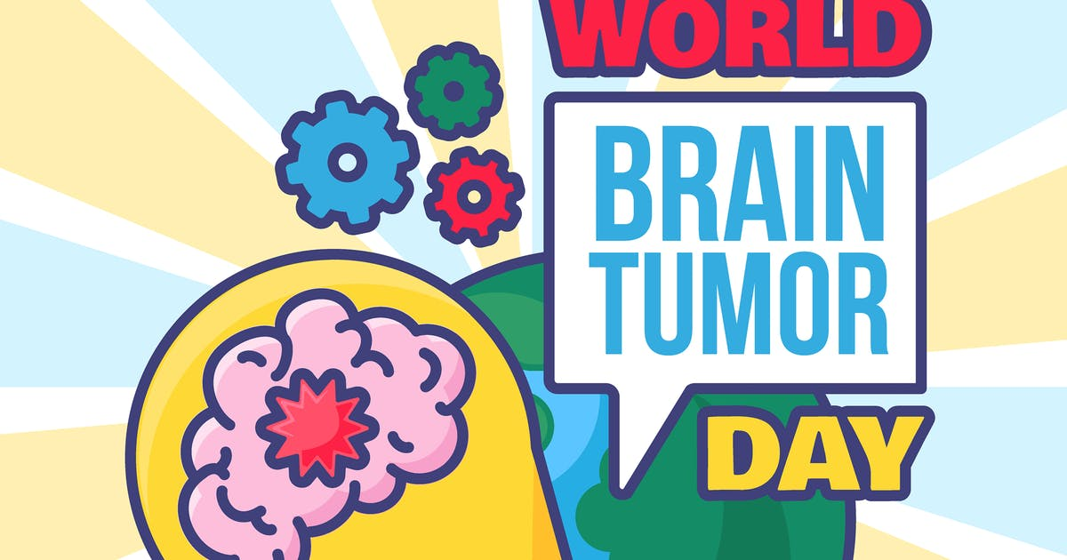 Download World Brain Tumor Day Illustration by barsrsind
