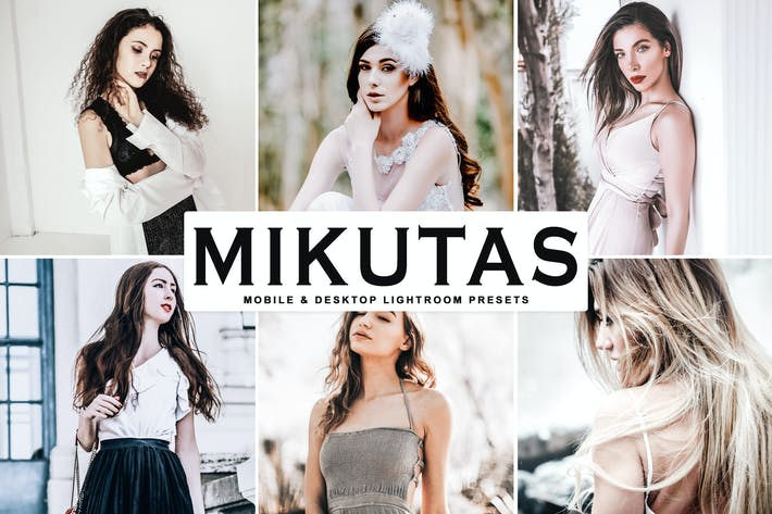 Thumbnail for Mikutas Mobile & Desktop Lightroom Presets