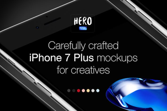Thumbnail for HERO Phone 7 Plus Mockups