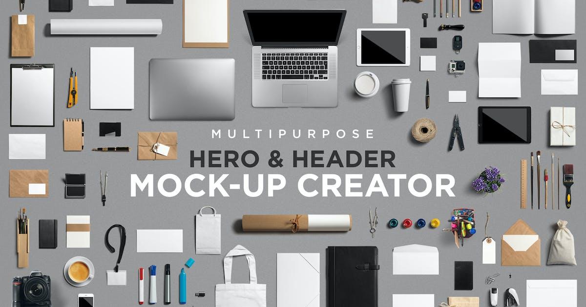 Download Multipurpose Mock-Up Creator by Genetic96
