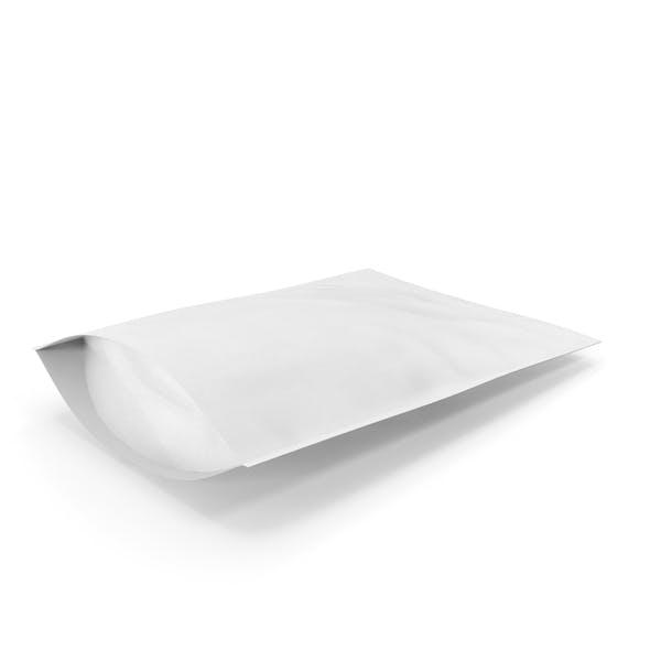 Zipper White Paper Bag 500g
