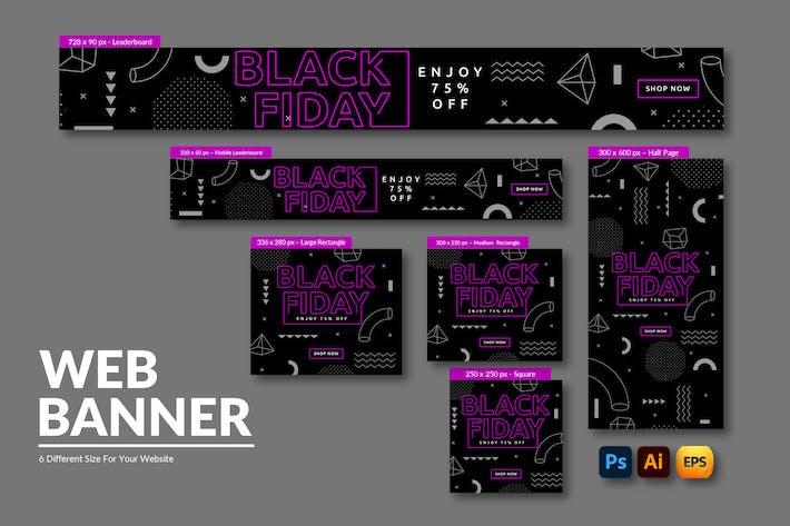 Black Friday Advertisement | Web Banner