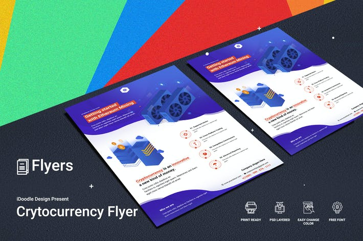 Thumbnail for Cryptocurrency Mining Flyer