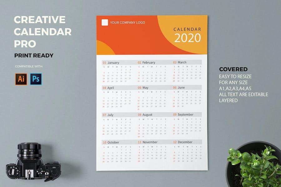 Creative Calendar Pro 2020
