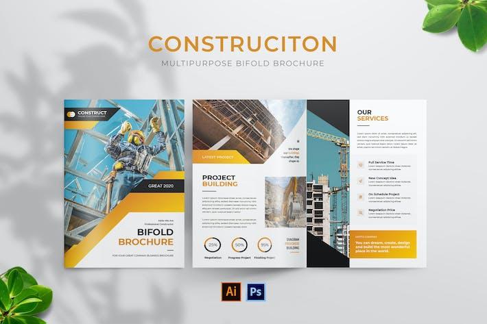 Thumbnail for Brochure de construction à deux volets