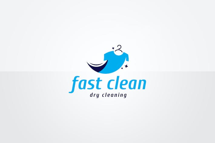 Thumbnail for Dry Cleaning Logo Template