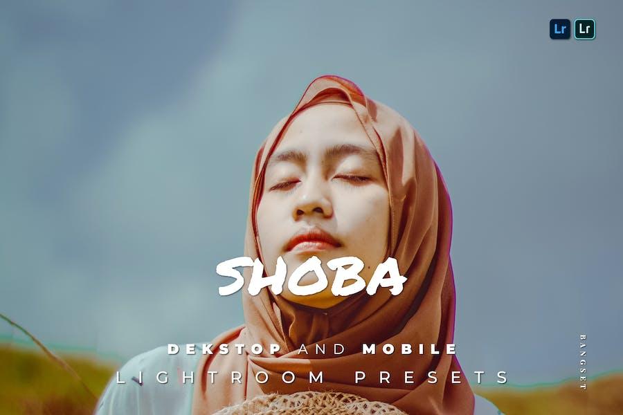 Shoba Desktop and Mobile Lightroom Preset