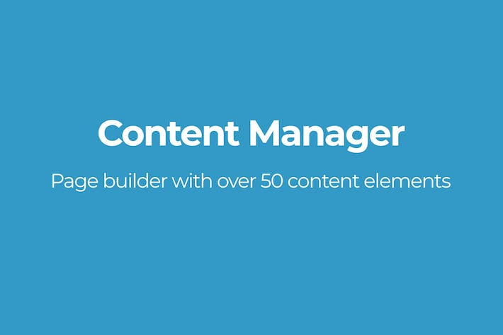 Thumbnail for Content Manager