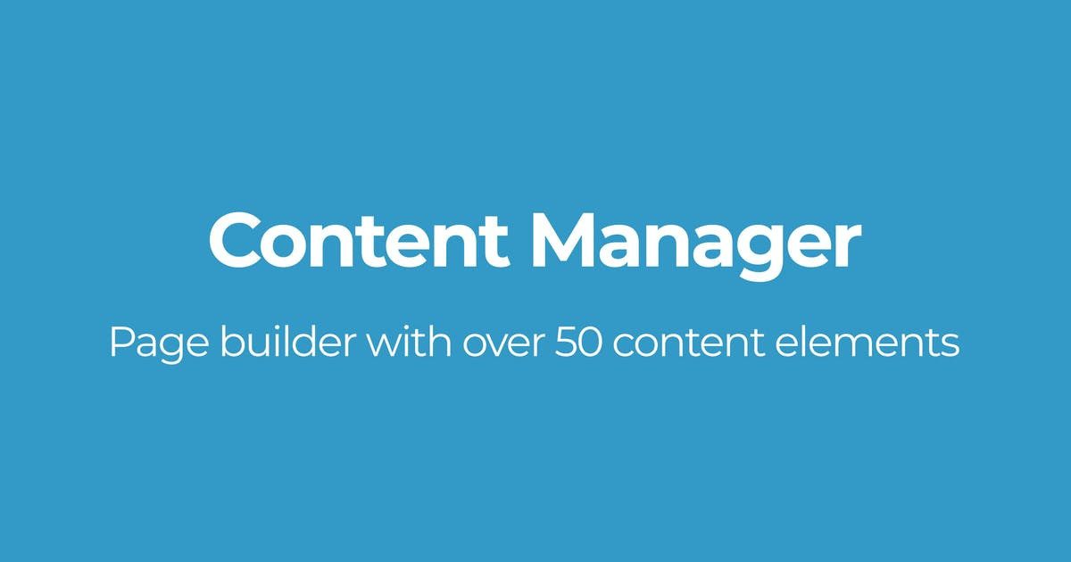 Download Content Manager by OTWthemes