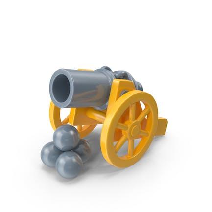 Spielzeugkanone