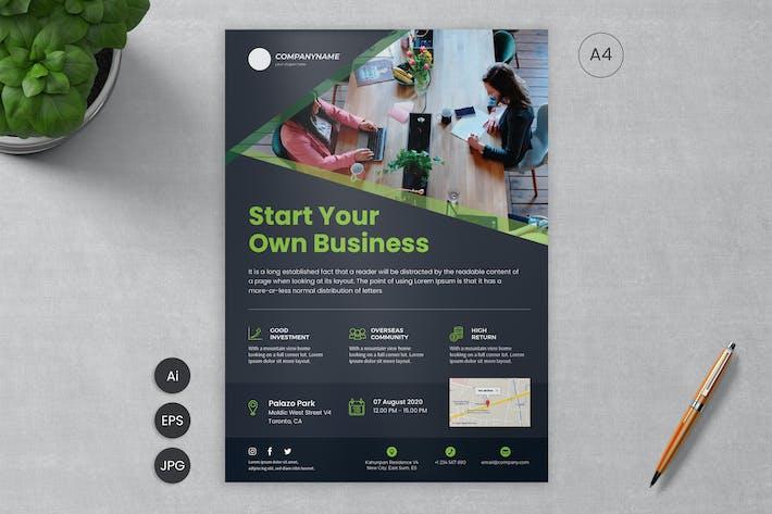 Thumbnail for Business Flyer Template 05 - SLidewerk