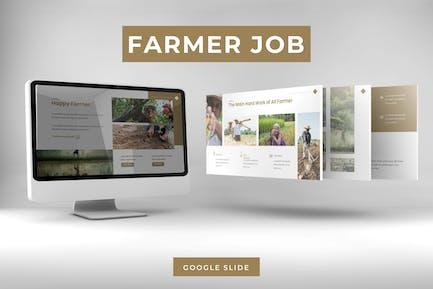 Farmer Job - Google FolienVorlage