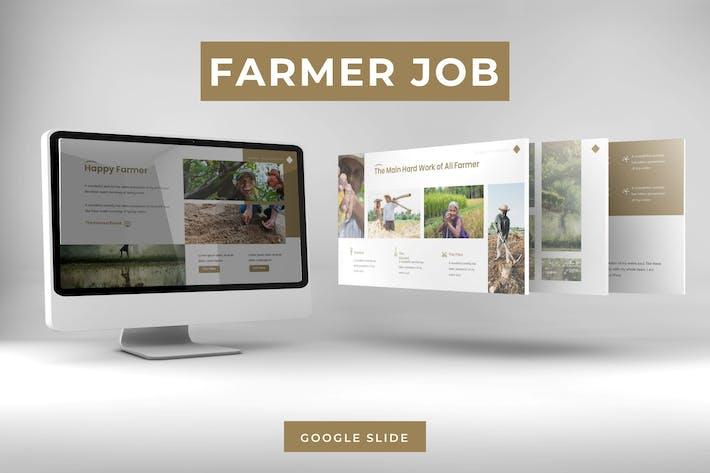 Thumbnail for Farmer Job - Google Slide Template