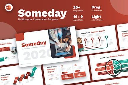 Someday Multipurpose Presentation Template