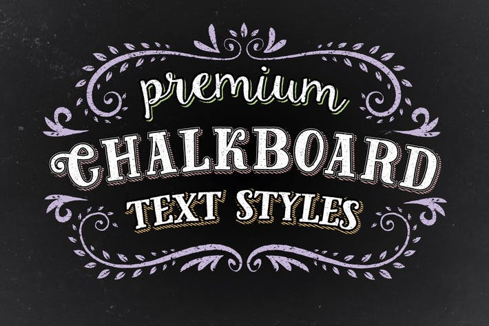 Thumbnail for Premium Chalk Text Styles