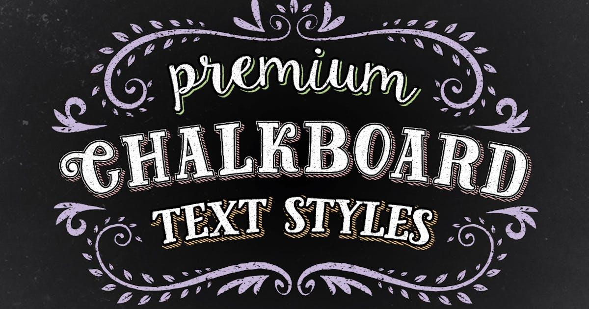 Download Premium Chalk Text Styles by JRChild