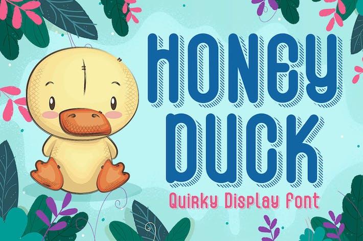 Honey Duck - Police ludique et unique