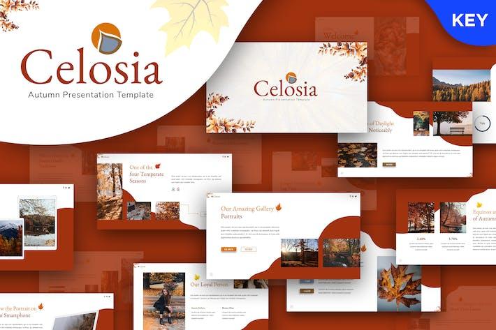 Thumbnail for Celosia - Autumn Keynote Template