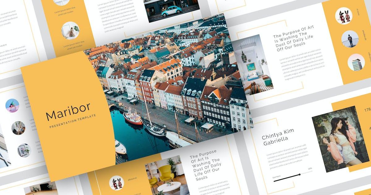 Download Maribor - Creative Keynote Template by StringLabs
