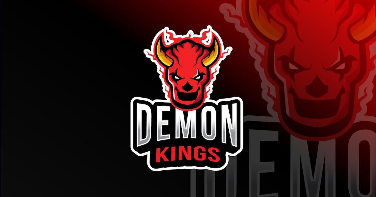 Download Demon Kings Esport Logo Template by IanMikraz