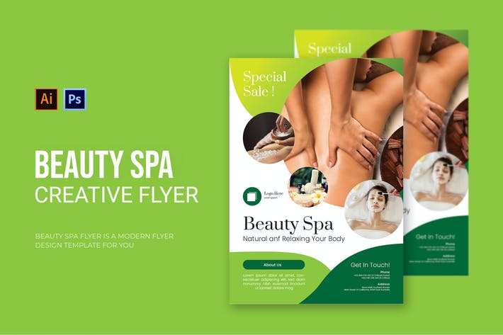 Thumbnail for Beauty Spa - Flyer