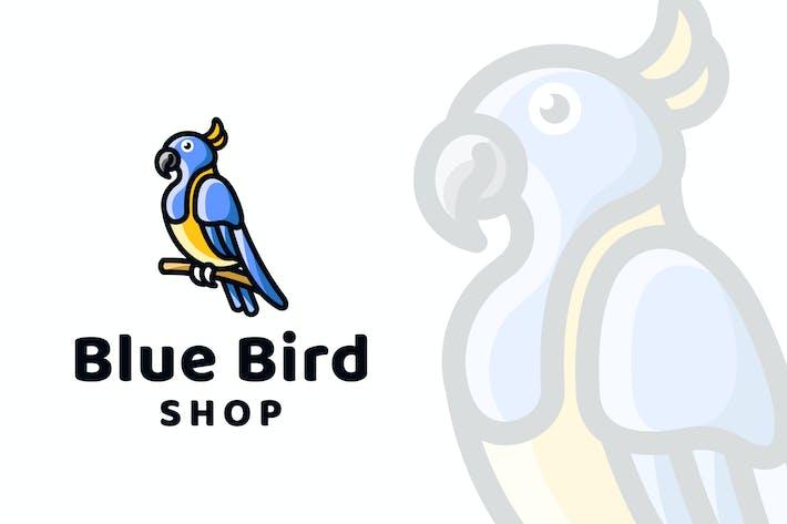 Thumbnail for Blue Bird Shop Logo Template