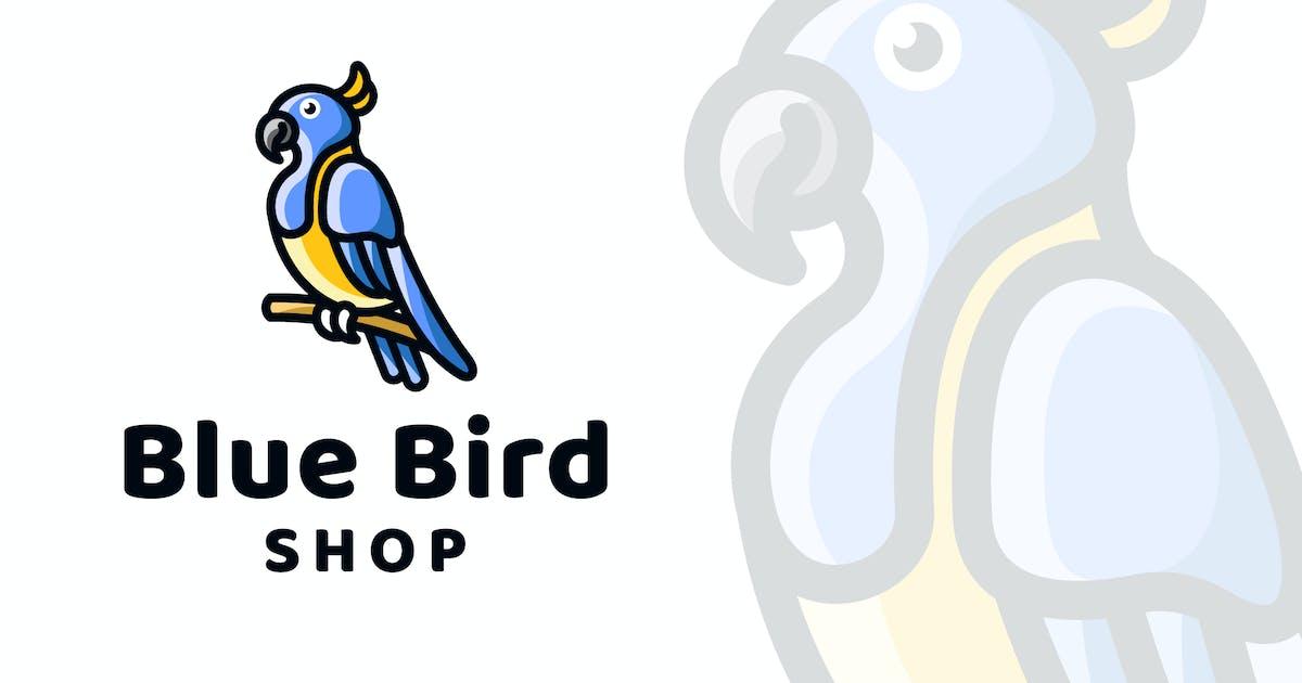 Download Blue Bird Shop Logo Template by IanMikraz