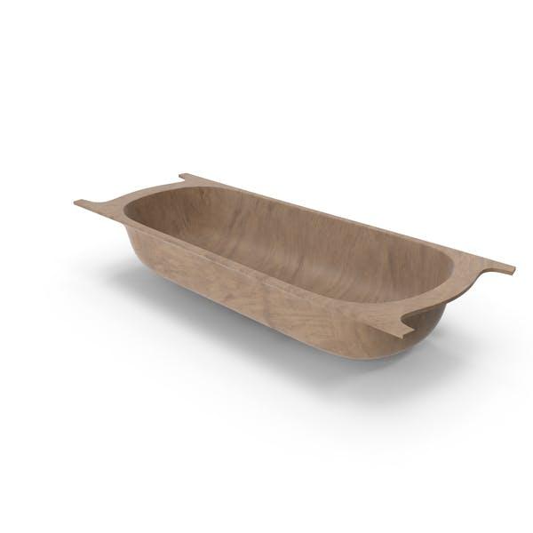 Античный деревянный контейнер большой
