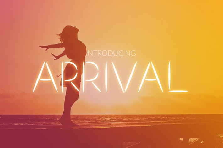 Thumbnail for Arrival Font
