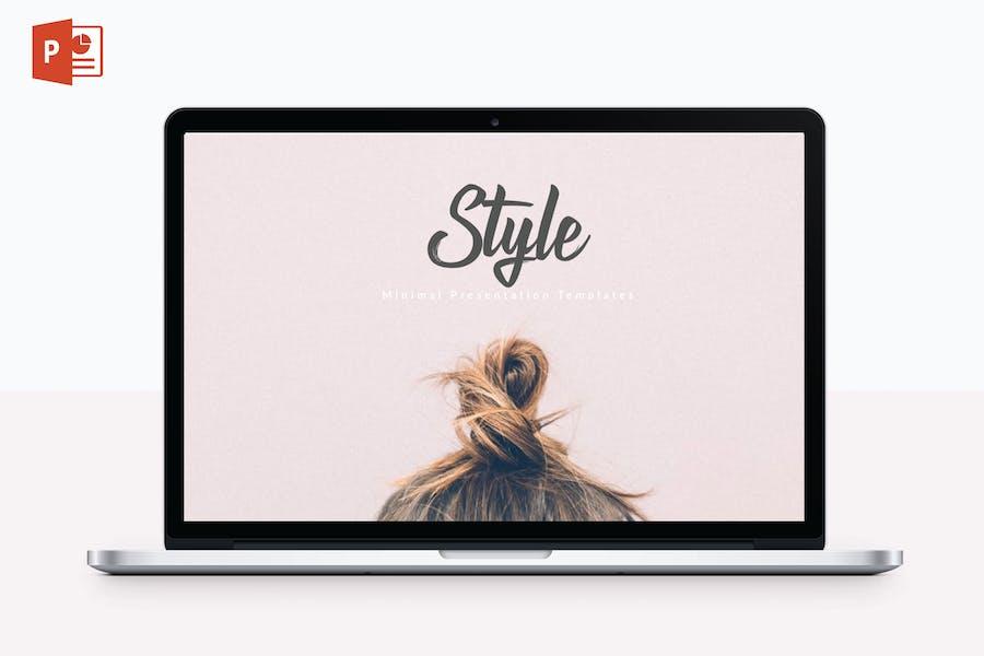 STYLE - Multipurpose PowerPoint Template V50