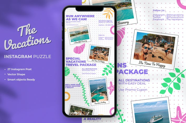 Thumbnail for The Vacations Instagram Puzzle