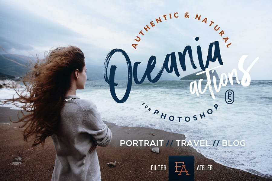 Oceania Photoshop Actions