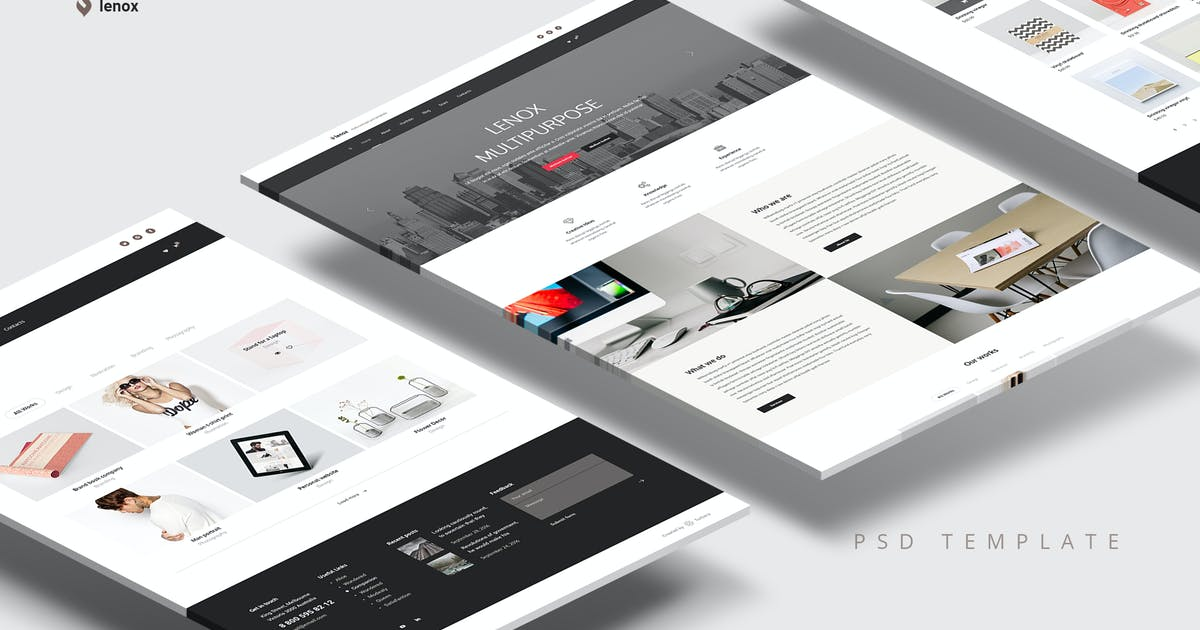 Download Business and Agency PSD Template by Unknow