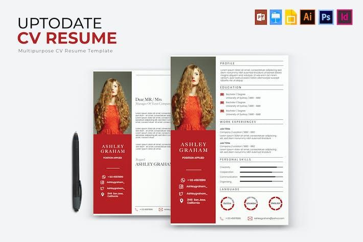Thumbnail for Uptodate | CV & Resume