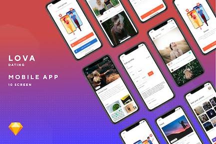 Lova -  Dating Mobile App