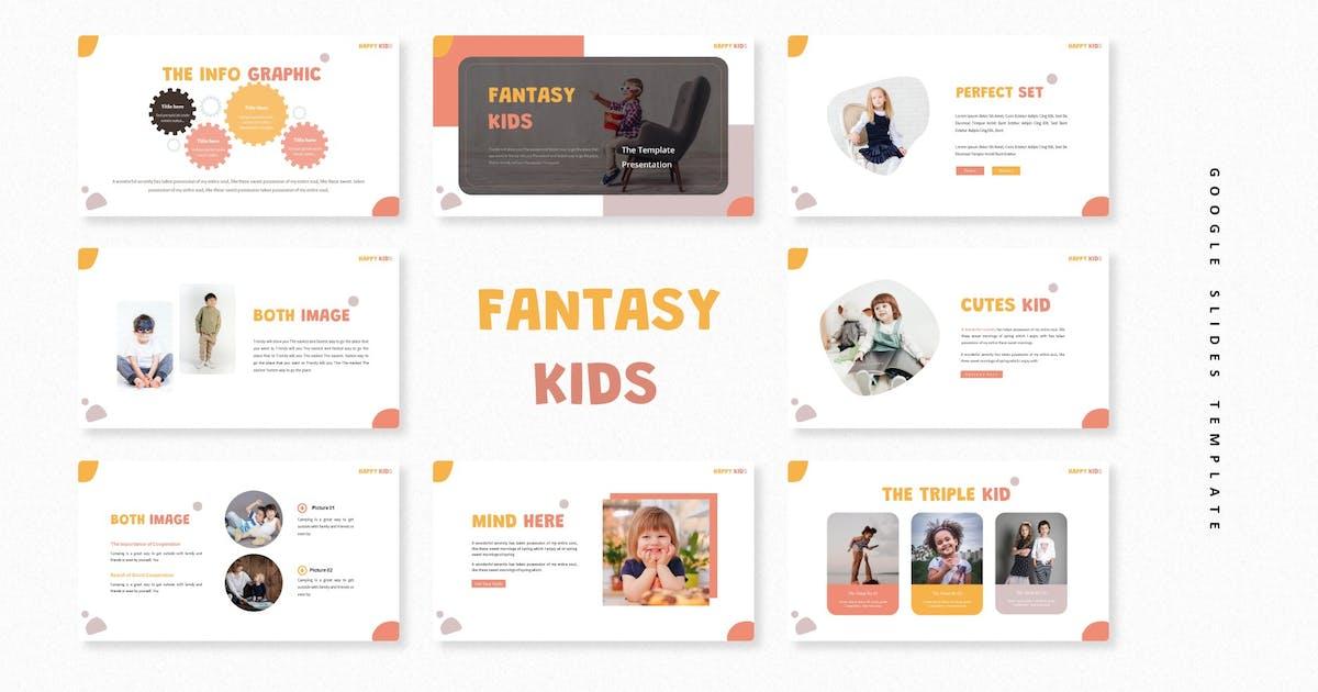 Download Fantasy Kids   Google Slides Template by Vunira