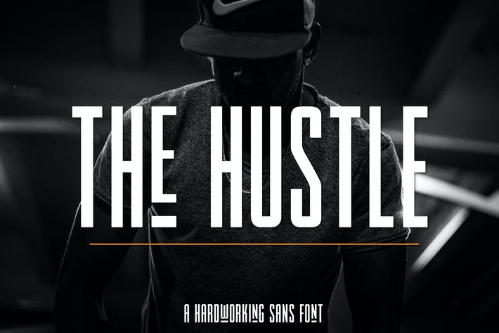 Cover Image For The Hustle Font