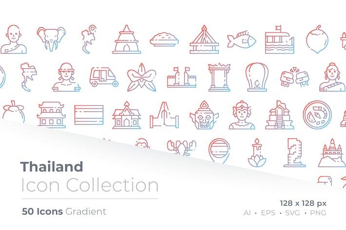 Thumbnail for Таиланд Градиент Значок