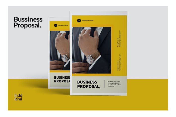 Thumbnail for Bussiness Proposal - Brochure Company