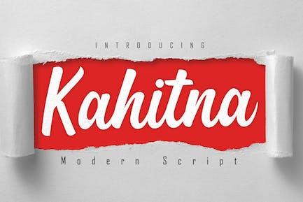 Kahitna - Escritura moderna