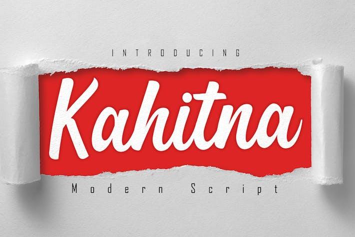 Thumbnail for Kahitna Modern Script