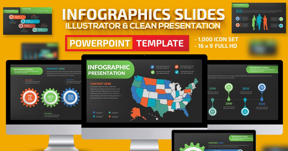 Download Infographics Powerpoint Presentation by mamanamsai
